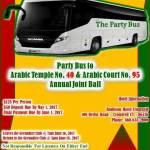 6-16-17 – Arabic Joint Ball Bus Trip