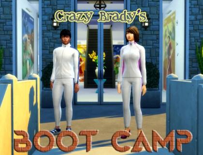 Crazy Brady's Boot Camp