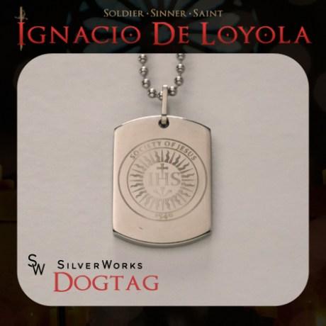 SilverWorks IHS Dog Tag