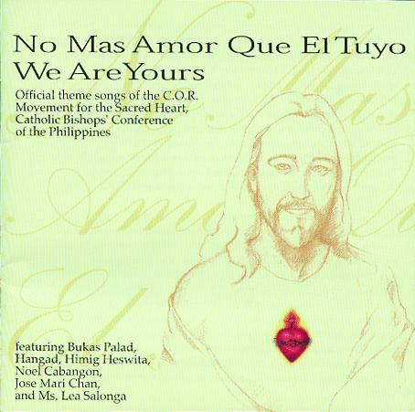 no mas amor que el tuyo (we are yours)