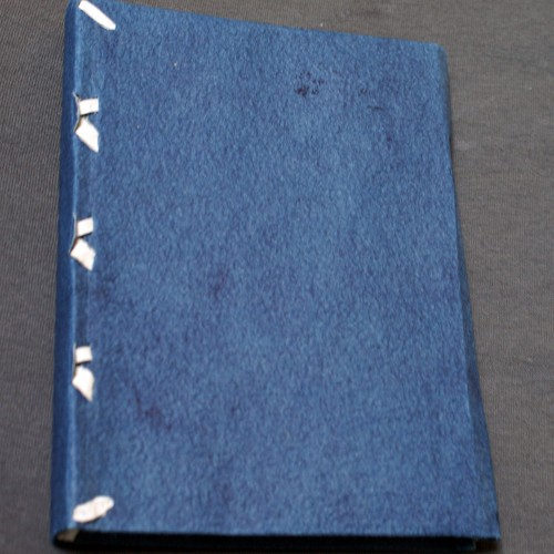 Limp Paper Binding - front