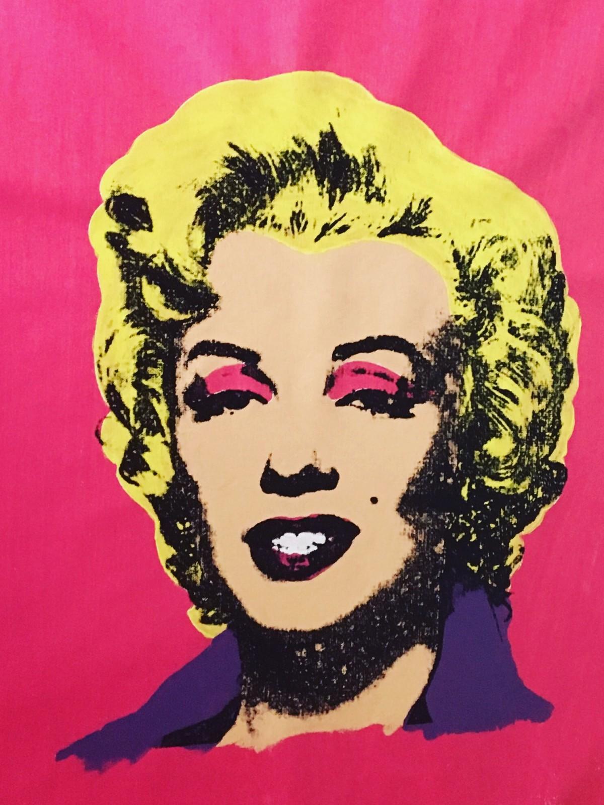 Marilyn Monroe - Final Silkscreen Painting