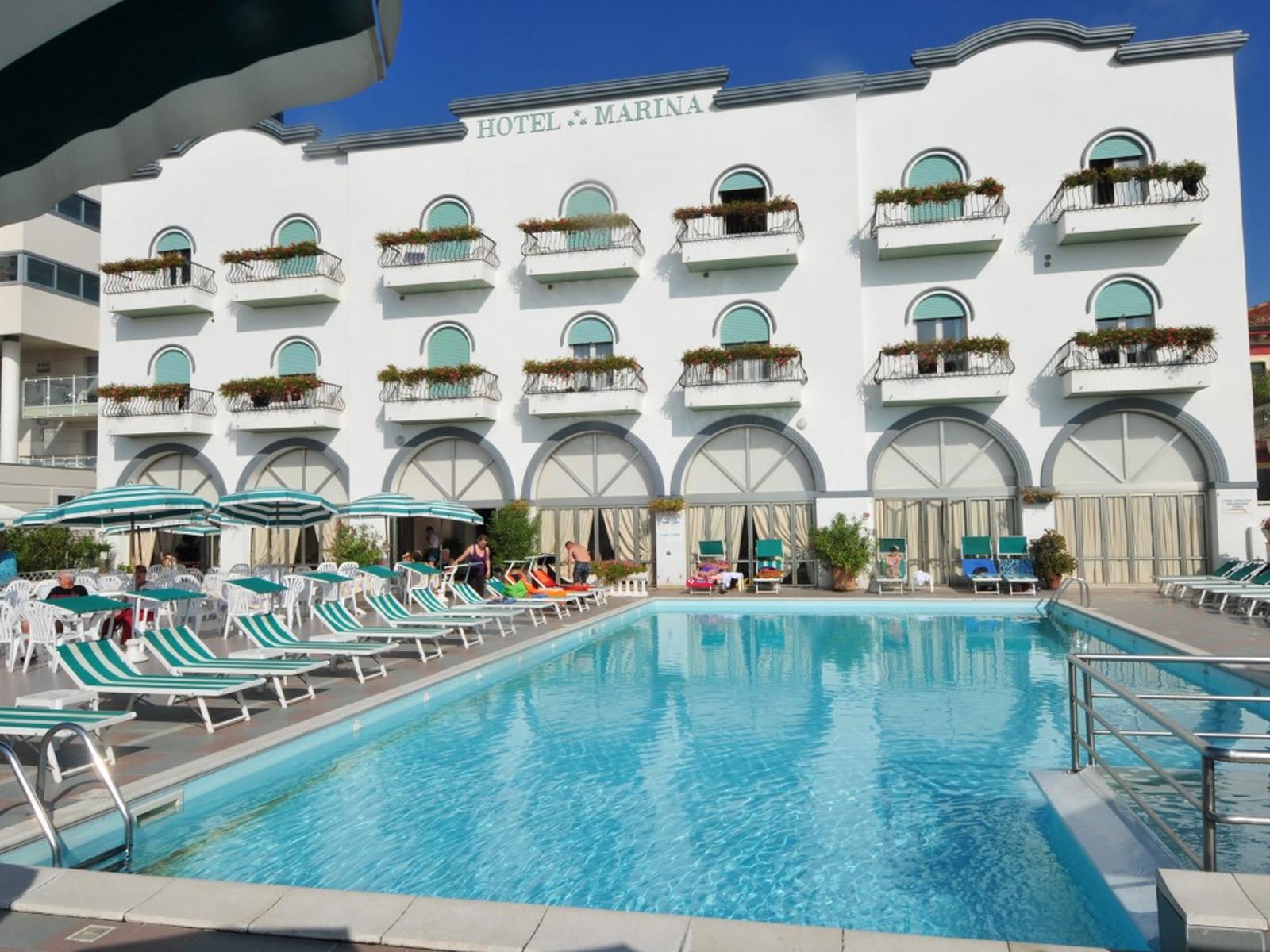 Hotel Jesolo 3 Stelle frontemare  Hotel Marina  JesoloOK