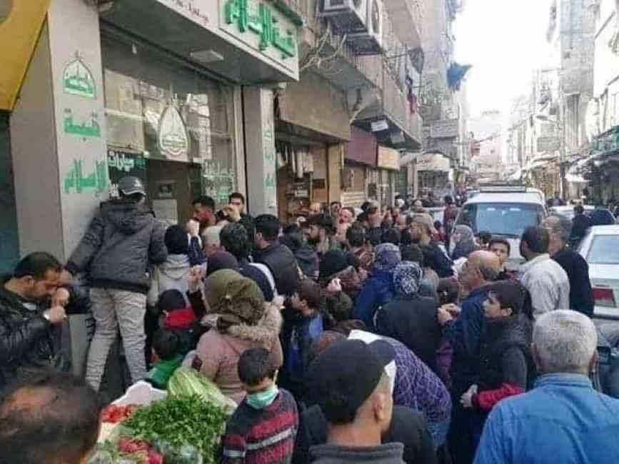 """دمشق - """"ثورة جياع قادمة في سوريا"""" بعد كسر نظام الأسد لـ""""الخط الأحمر"""""""