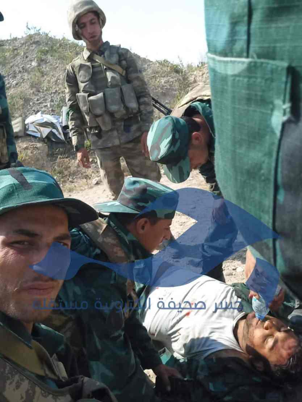 """1 - مصادر خاصة لـ""""جسر"""": مقتل عشرة عناصر سوريين في معارك """"أذربيجان"""" اليوم"""