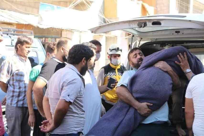 .jpg?resize=854%2C569&ssl=1 - وفاة طفلتين من عائلة واحدة غرقاً في نهر العاصي غرب إدلب