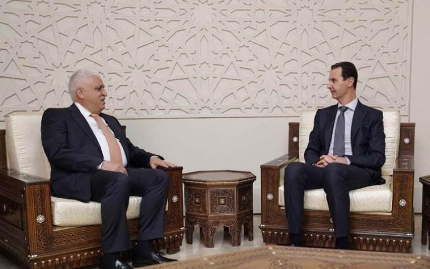 الفياض بشار الأسد - مصادر إعلامية تكشف سبب زيارة قائد الحشد الشعبي العراقي بشار الأسد