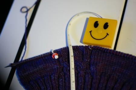 Knitting Olympics Progress 02-14-10