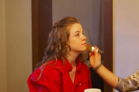 Prom Preparation - Elaina's makeup