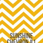 sunshine large chevron