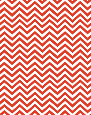 Red chevron paper