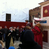 Stepped into 1546 at Hampton Court