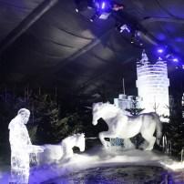 An amazing ice kingdom