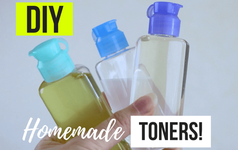 Top 3 DIY Toners For Acne Prone And Oily Skin