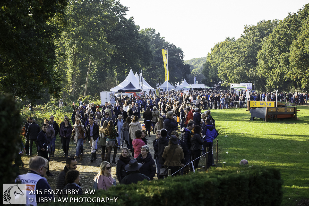 Approximately 60'000 people visited on the day of CROSS COUNTRY: 2015 NED-Military Boekelo-Enschede CCIO3* (Saturday 10 October) CREDIT: Libby Law COPYRIGHT: LIBBY LAW PHOTOGRAPHY