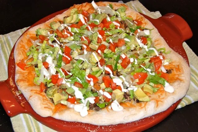California Pizza Kitchen's Tostada Pizza