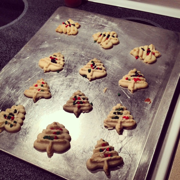 12 Days Of Christmas Cookies Classic Spritz Cookies