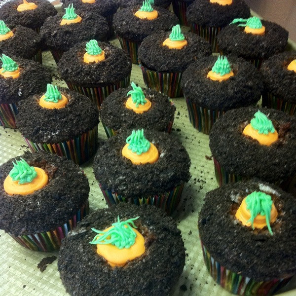 Carrot Patch Cupcakes