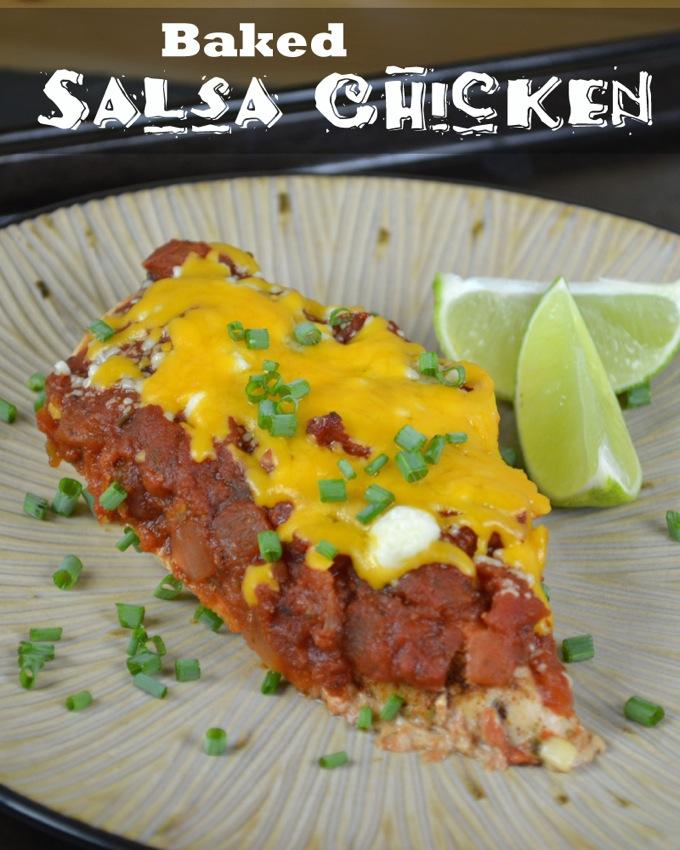 Baked Salsa Chicken