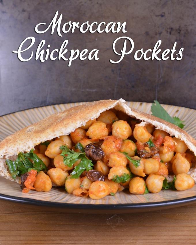 Moroccan Chickpea Pockets
