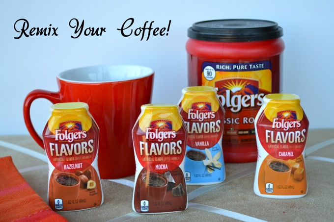 Folgers Flavors lets you customize and #remixyourcoffee!
