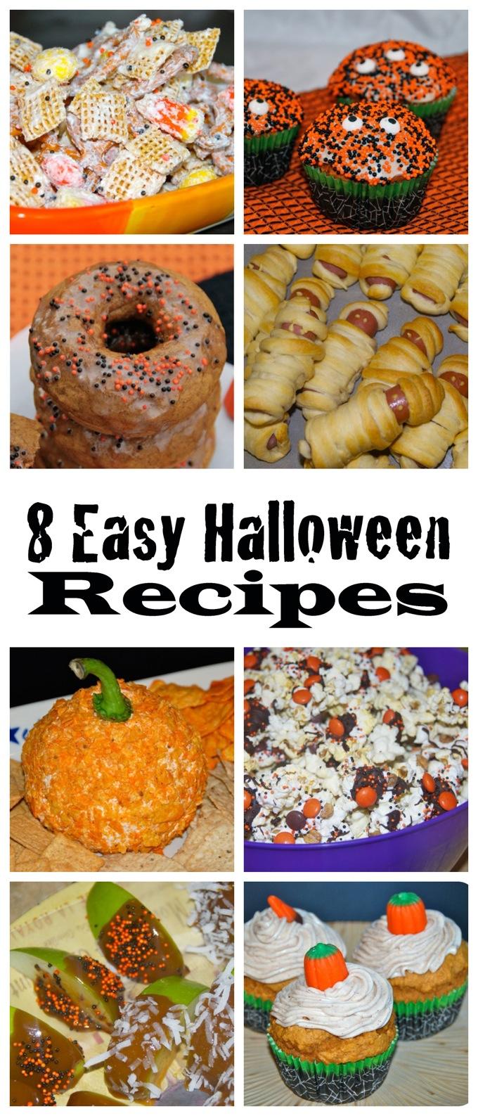 8 Easy Halloween Recipes // www.jessfuel.com