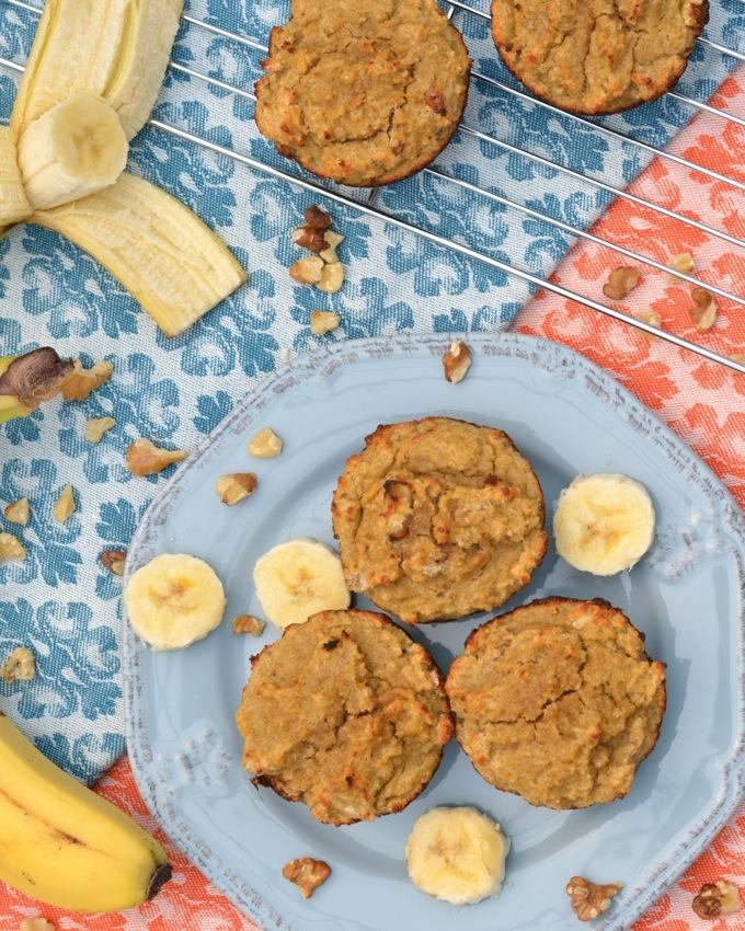 Gluten-Free Banana Nut Muffins