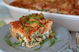 Italian Sausage and Kale Lasagna