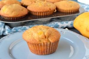 Bakery-Style White Chocolate Mango Muffins