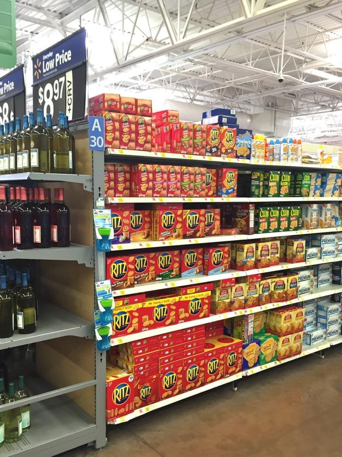 Ritz Crackers at Walmart #PutItOnARitz