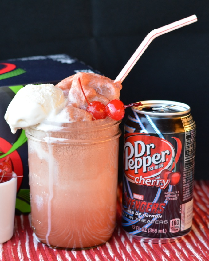 Grown Up Cherry Vanilla Floats