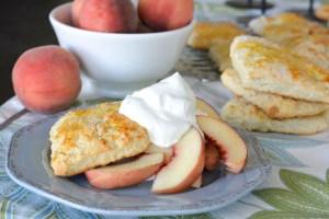 Fresh Peach Shortcakes