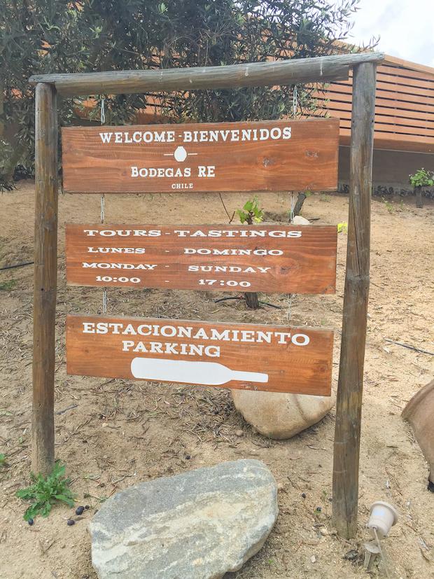 Bodegas RE, Chile
