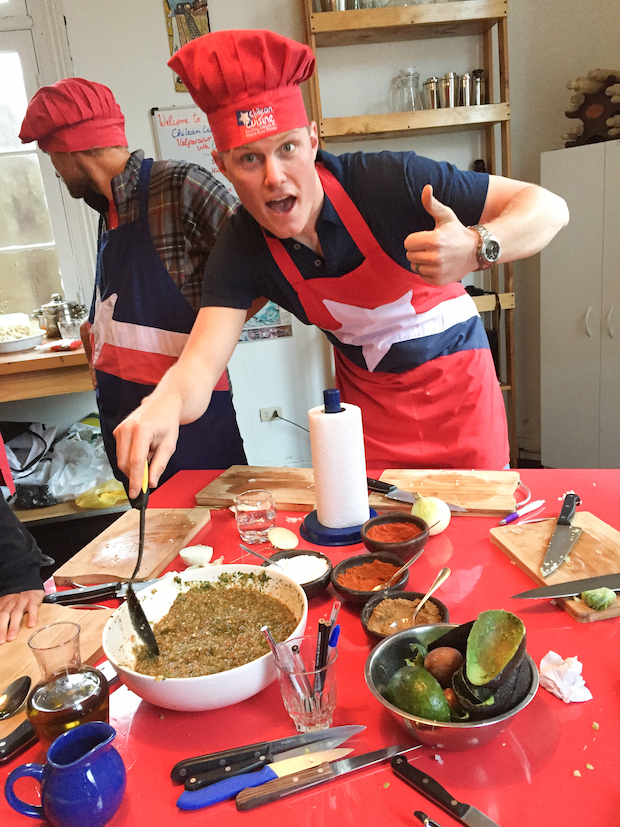 Chilean Cuisine Cooking Class-7