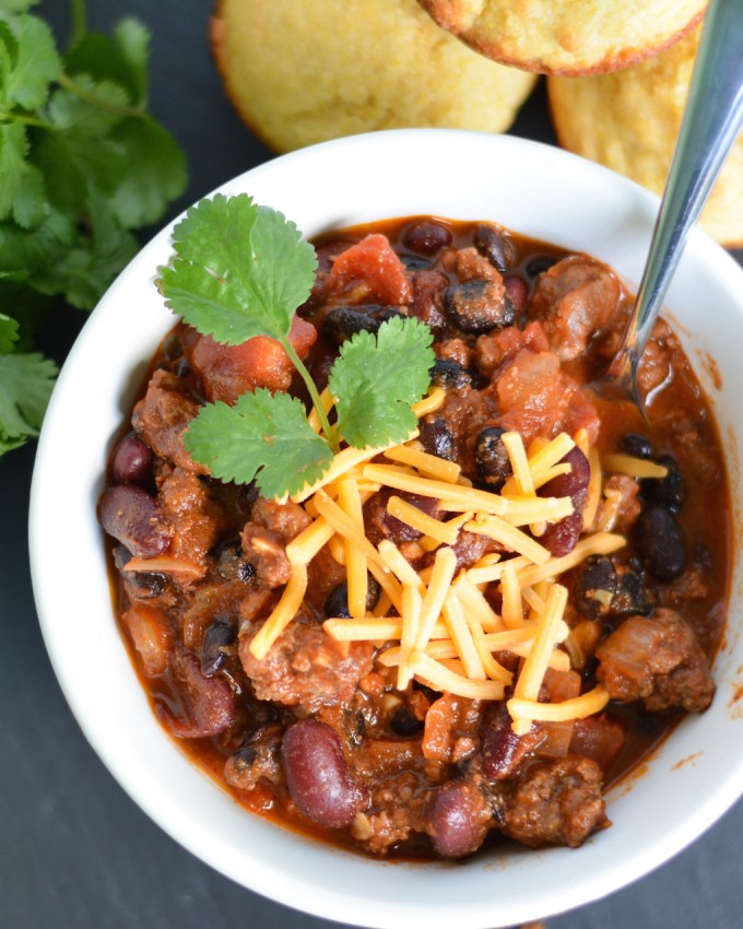 Smoky Venison Chili
