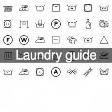 Est-ce que vous connaissez tous ces symboles? Si vous travaillez dans un magasin de vêtements c'est extrêmement important!