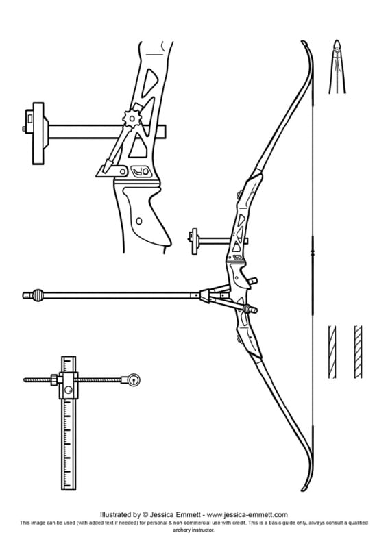 archery stance diagram
