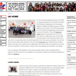 Hong Kong Adoptees Network (HKAN) website screen shoot