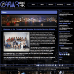 CAAWR website screen shoot