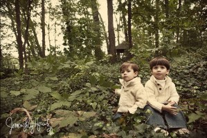 Atlanta Family Portraits | Asher and Chatam at Home