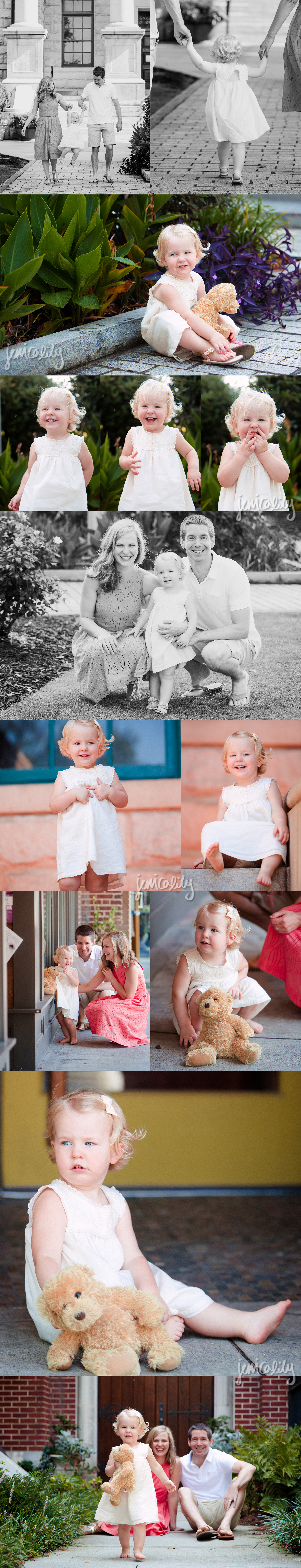 Decatur Family Portrait by Jessica Lily