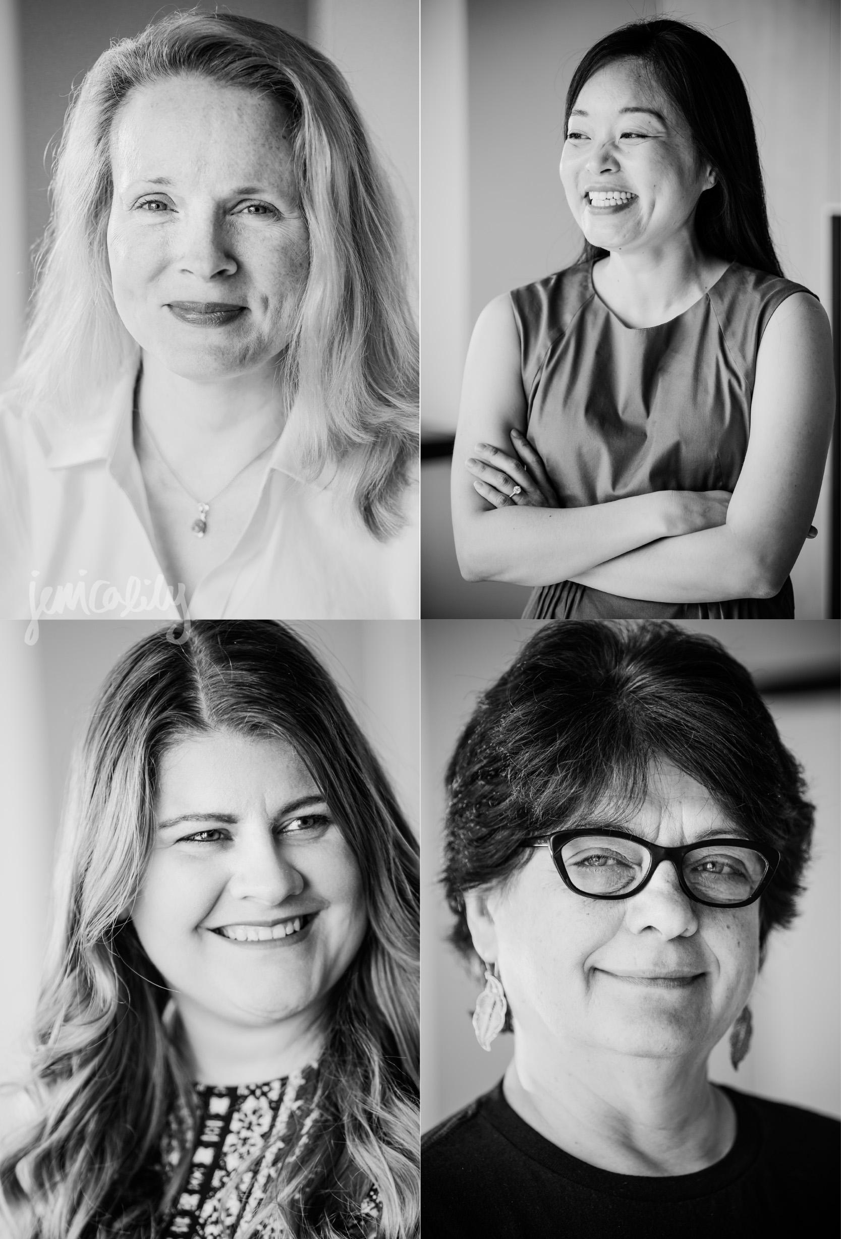 Atlanta Headshots of The Women of Emory PEIDS