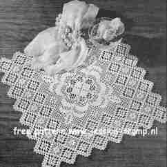 Crochet Doily Patterns With Diagram Cat Dissection Muscle Back Filet Valentine English Pattern Free Vintage Crocheted Doilies Chart