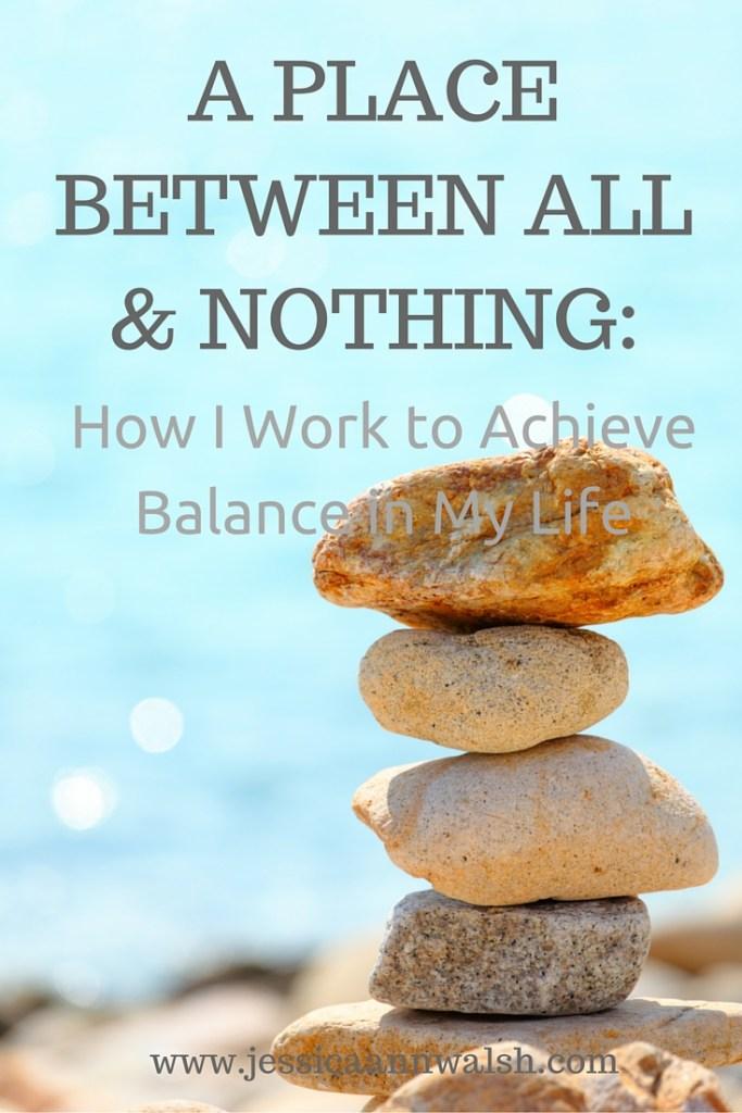 How I achieve Balance