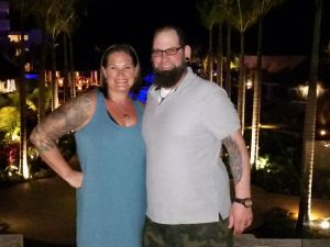 Jessica A. Walsh and Mike Jadach in Punta Cana, Dominican Republic