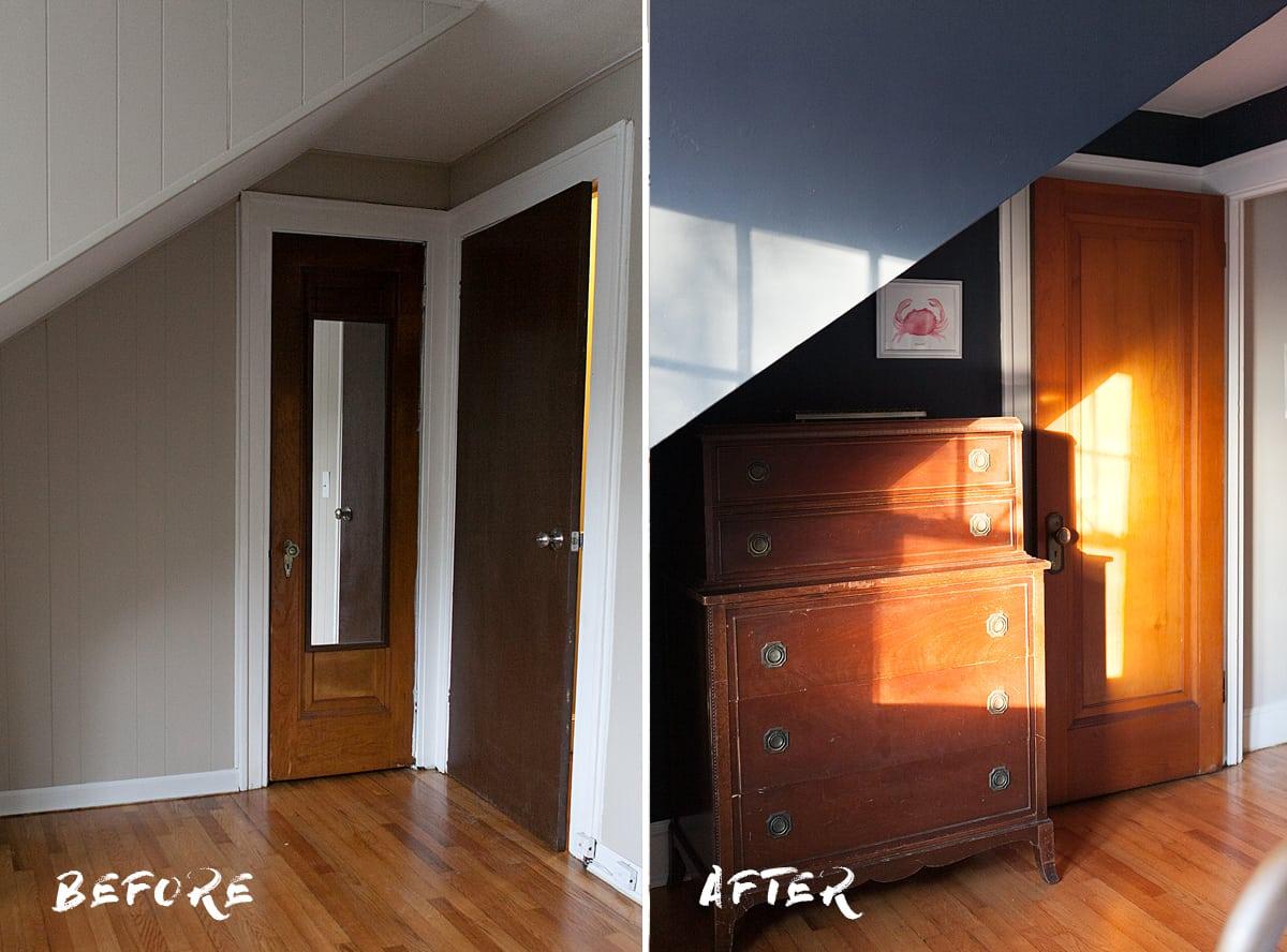 ... Before And After   Indigo Bedroom Ideas   Jessica Brigham Blog    Magazine Ready For Life