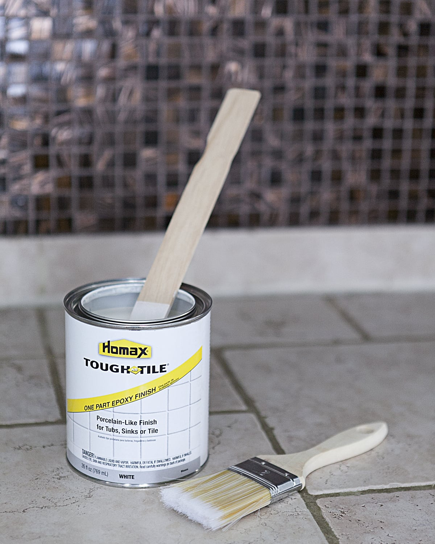 Can You Paint Ceramic Tile Kitchen Backsplash I Painted Our Kitchen