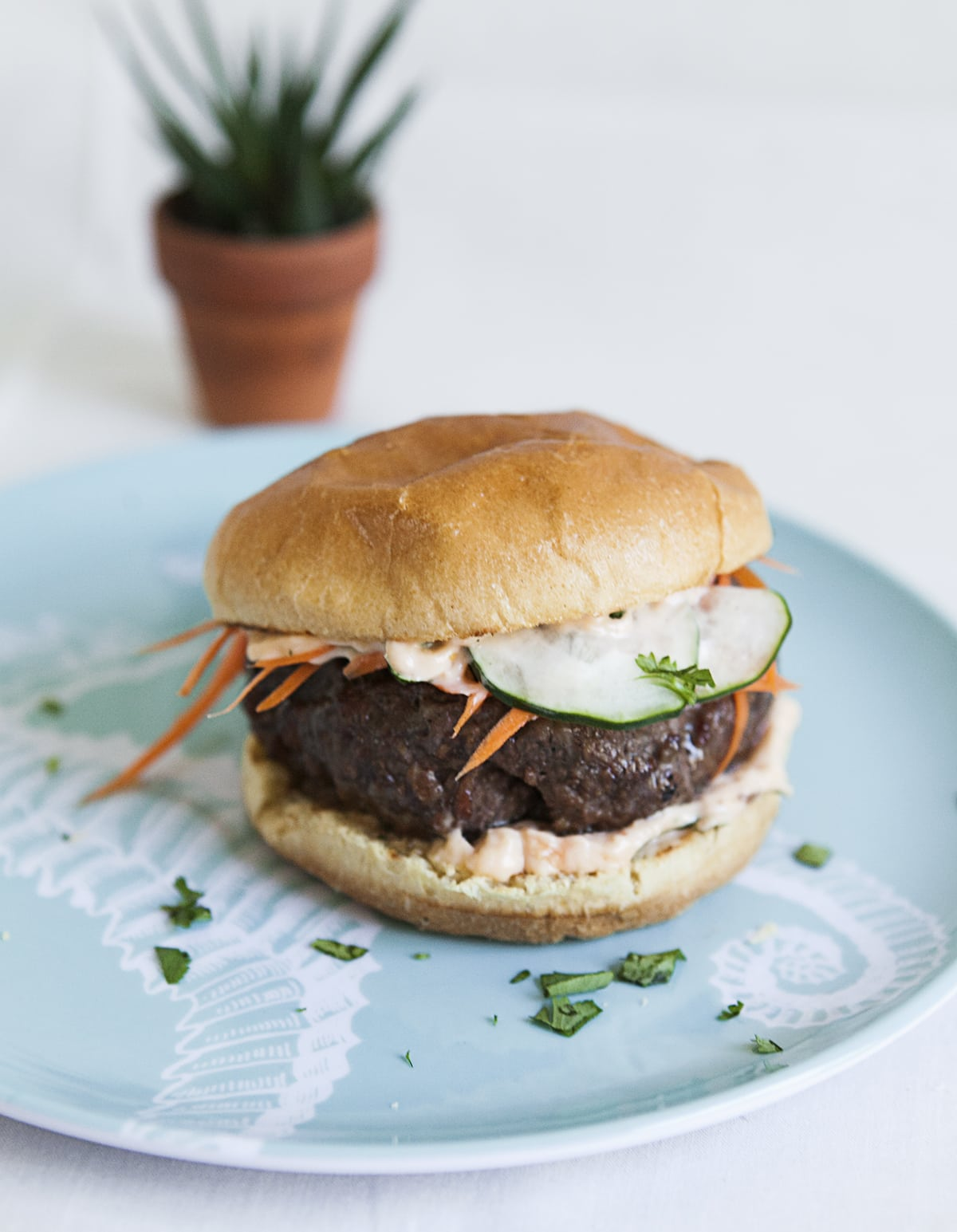 Fridge Leftovers: Bánh Mì Burgers