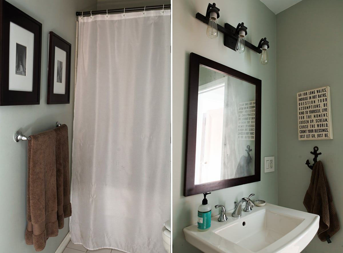 My First One Room Challenge Modern Boho Bathroom Jessica Brigham