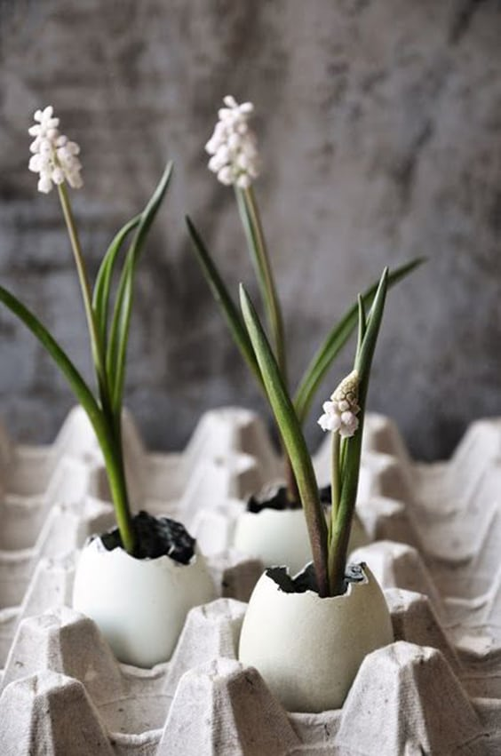 Easy DIY Easter Decorations   Scandinavian Easter Eggs   GodfatherStyle